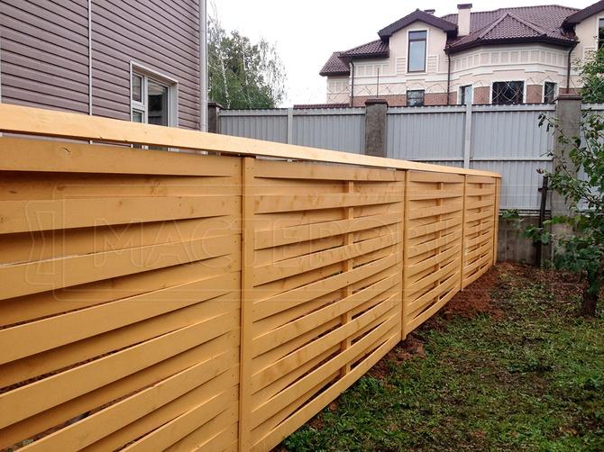 Дешевый забор из дерева своими руками фото 146