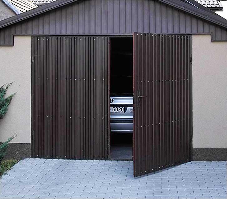 Обшивка гаража профнастилом бу металлический гараж на вывоз в