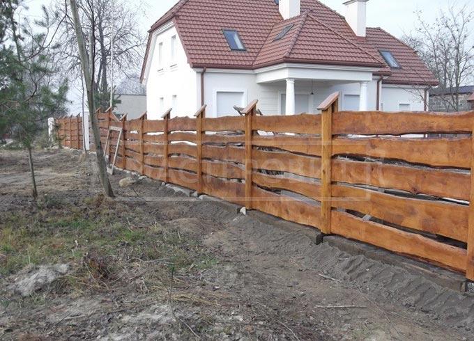 Как сделать временный дешевый забор